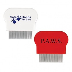 photo of dog flea comb