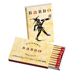 match books customized for bars