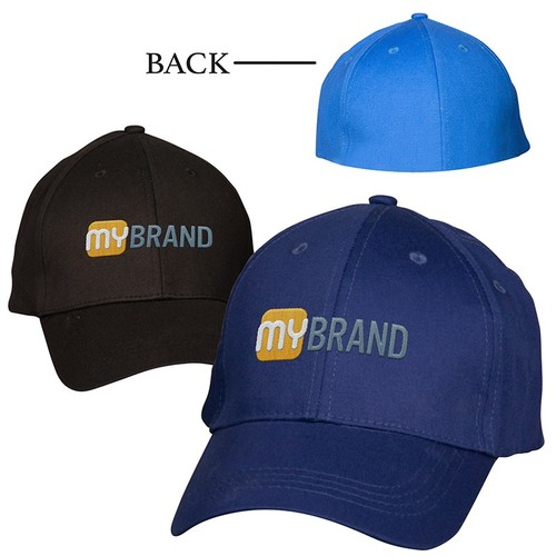 Photo of Structured Stretch Fitted Cap