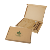 Bamboo Sharpen It™ Cutting Board With Gift Box