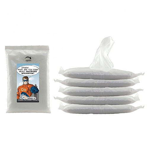 Photo of 10 Pack Wet Wipe Packet