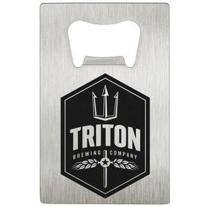 Stainless Steel Wallet Card Bottle Opener