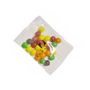 1 Oz. Goody Bags With Skittles Direct Print