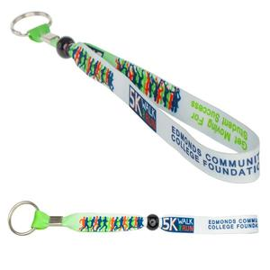 B Band Wristband Keychain 5/8""