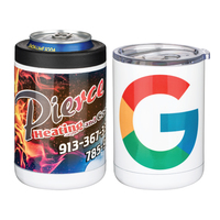 Arctic Beast 2 In 1 Can Holder Tumbler W/Full Color Sublimation