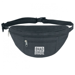 600 D Polyester Double Zipper Fanny Pack