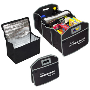 Cargo Organizer With Cooler Bag