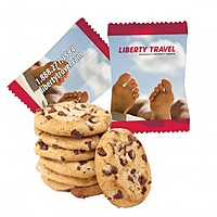 Custom Individually Wrapped Large Chocolate Chip Cookie