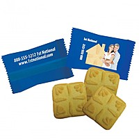 Custom Individually Wrapped Shortbread Cookie