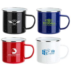 Foundry 16oz Enamel Lined Iron Coffee Mug