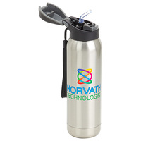 Stratford 17 Oz Pop Top Vacuum Insulated Stainless Steel Bottle