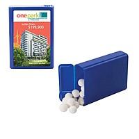 Flip Top Plastic Case With Signature Peppermints