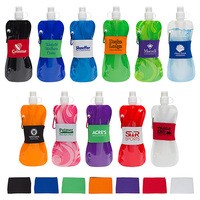 16 Oz Water Bottle With Neoprene Waist Sleeve