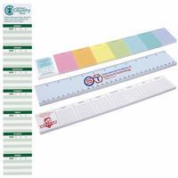 """Bic®  12"""" X 2"""" Adhesive Notepad, 25 Sheet Pad"""