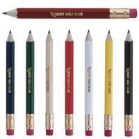 Hex Golf Pencil With Eraser