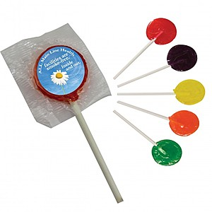 Lollipop W/ Round Label