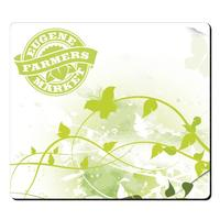 """Bic® 1/4"""" Fabric Surface Mouse Pad (7 1/2"""" X 8 1/2"""")"""