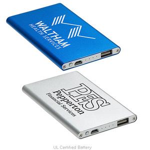 Sleek Design 2000m Ah Aluminum Power Bank