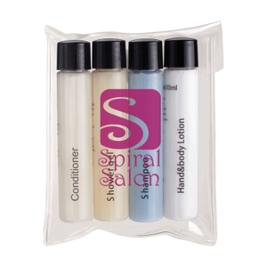 4 Piece Travel Amenities Kit