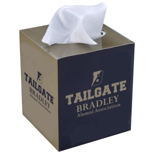 Tissue Box With Sleeve