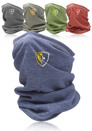 Photo of Anti Microbial Heathered Neck Gaiter And Bandana