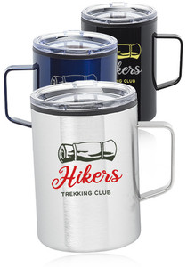 13.5 Oz. Wells Stainless Steel Camper Mug