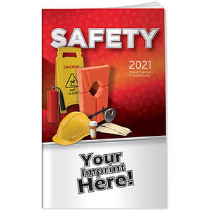 Pocket Calendar 2021 Safety