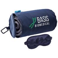 Aero Loft™ Travel Blanket With Sleep Mask