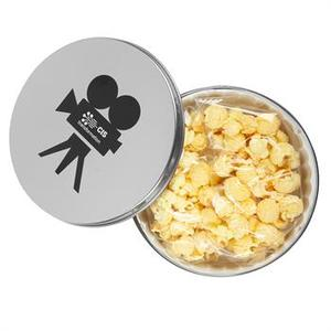 Movie Reel Tin With Butter Popcorn