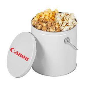 One Gallon Popcorn Tin With Trio Popcorn