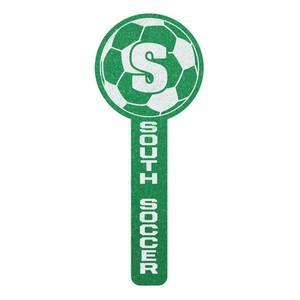 "15"" Soccer Foam Cheerstick"