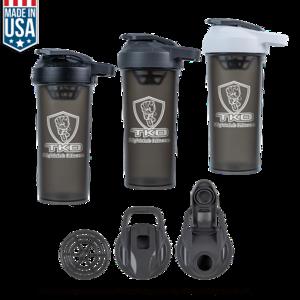 27 Oz U.S.A Made Protein Sport Shaker Bottle