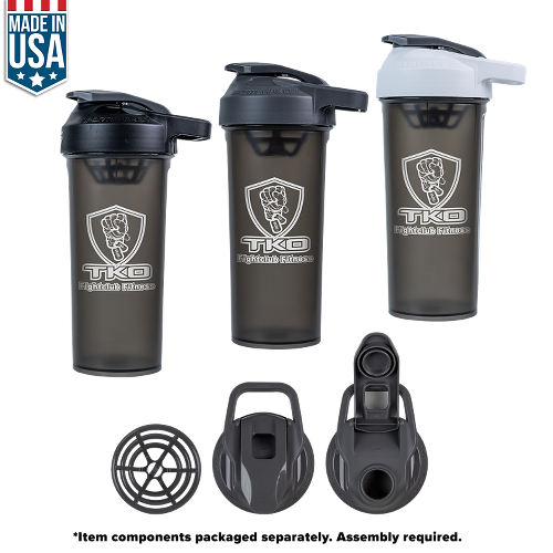 Photo of 27 Oz U.S.A Made Protein Sport Shaker Bottle