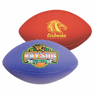 "7"" Solid Color Foam Football"