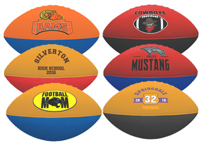 Two Toned Foam Football