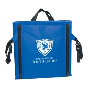 Stadium Cushion With Front Flap Pockets