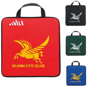 Non Woven Stadium Cushion With Carrying Handle