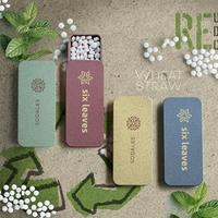 Wheat Straw Box With Mints
