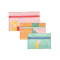 Zip Front Pouches Tuck & Toss (Small)