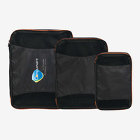 Brigh Ttravels Set Of 3 Packing Cubes