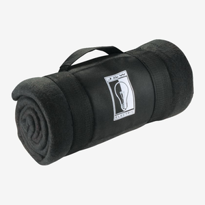 Roll Up Fleece Blanket With Carrying Strap