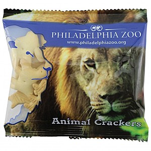 Zaga Snack Wide Promo Pack Bag With Animal Crackers