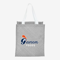 Pastel Non Woven Big Grocery Tote