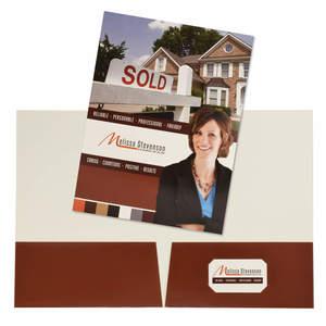 4 Color Process Presentation Folder
