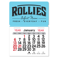 Magnetic Rectangle Peel N Stick Calendar