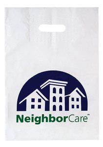 Patch Handle Reinforced Die Cut Bag