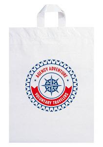 Soft Loop Handle Shopper Bag