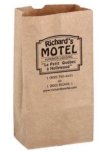 Natural Kraft 10# Sos Grocery Bag