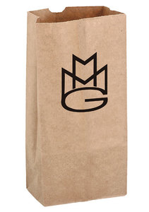 Natural Kraft 16# Large Sos Grocery Bag