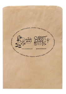 Natural Kraft Merchandise Bag